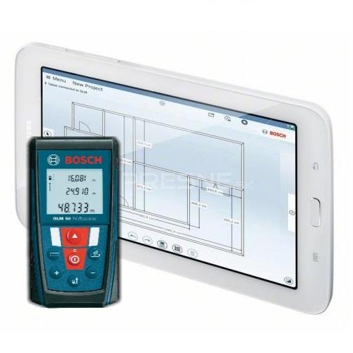 Bosch GLM 100c Laser Distace Meter With Samsung Galaxy A6 Tablet Offer