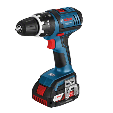 Bosch GSB 18v Li Dynamic Series Drill c/w  2 X 4ah Batteries