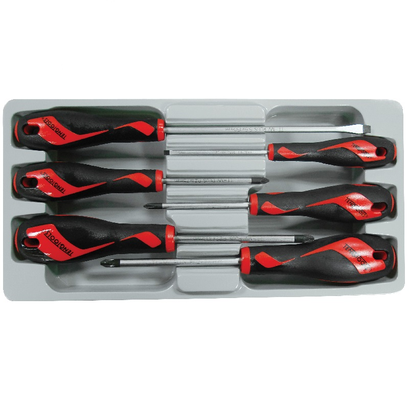 Teng 6pc Screwdriver Set New Md906n