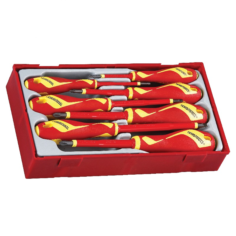 Teng 1000v 7pc Insulated Screwdriver Set Ttv907n