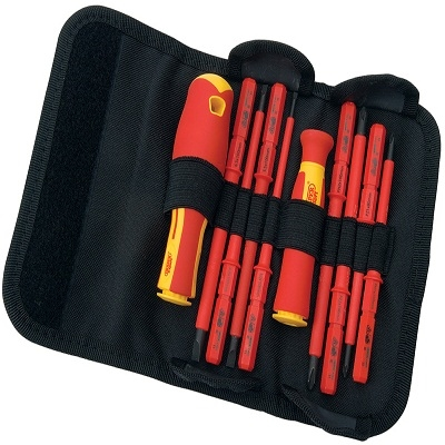 Draper 10pc Vde Screwdriver Set 05721 Interchangable Blade