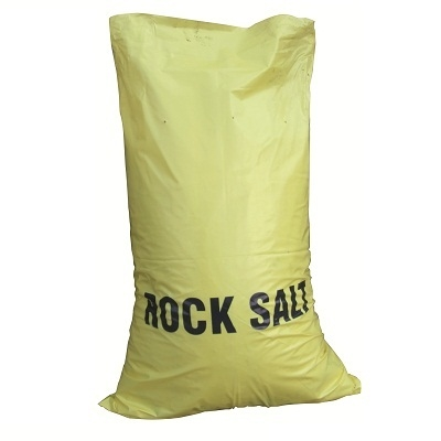 Brown Rock Salt - Low Moisture Approx 25kg Bags Yellow