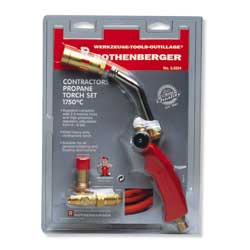 3.3334 Rothenberger Propane Torch Set