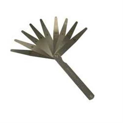 "M&w Feeler Gauges 493 4"" Blades"
