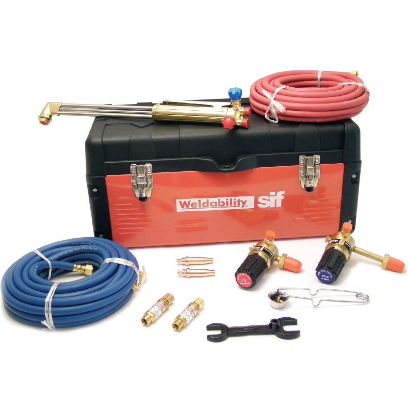Sif oxy/propane Cutting Toolbox Site Kit (10mm) Pkgcasepchd10