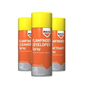 Rocol 3 Aerosol Pack Flaw Finder VW