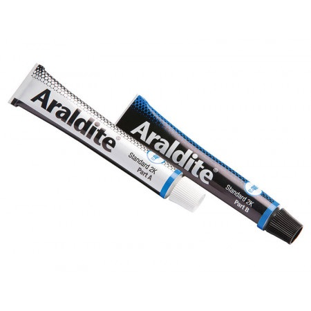 Araldite Precision Twin Tube Pack Slow Ara400001
