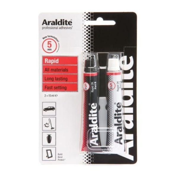 Araldite Diy Two Tube Pack Rapid Ara400005