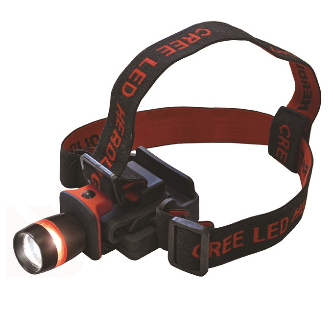 3w Led Cree Adjustable Headtorch