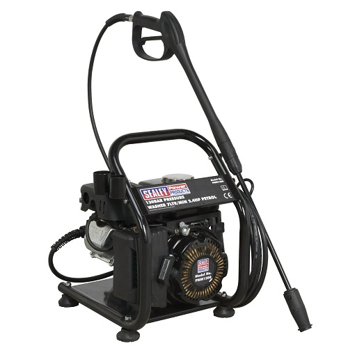 Sealey Petrol Pressure Washer 2.4hp 130bar