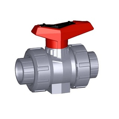 40mm Metric Abs d/u Ball Valve PLN Type 546