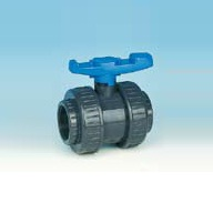 "1"" Pvcu d/u Water Screwed Ball Valve Epdm"
