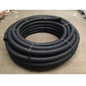100mm Land Drainage X 100mtr Coil Land Drainage And Carrier Pipes Perf