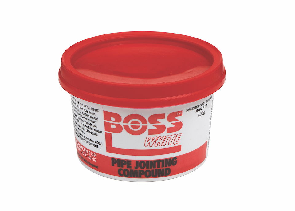Boss White 400 GRMS Tin Jointing Compound