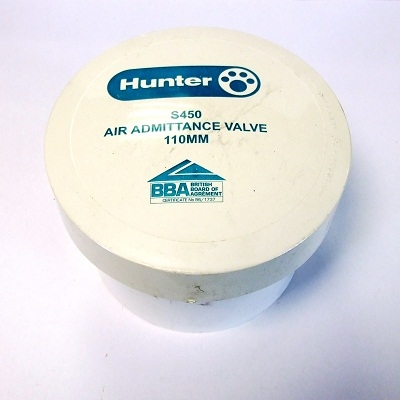 110mm Hunter Air Admittance Valve WS450