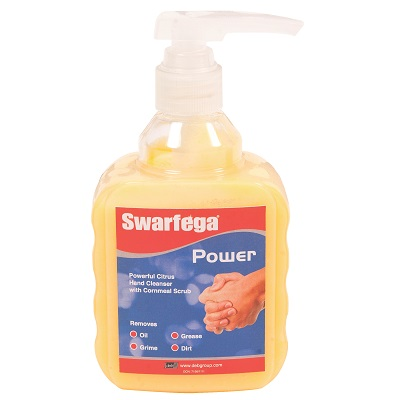 450ml Swarfega Power Swn400mp Pump Bottle Hand Cleanser was 400ml Deb Natural Nat20u