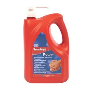 4 LTR Swarfega Power Swan4lmp Pump Bottle Hand Cleanser was 4.5ltr Deb Natural Nat553