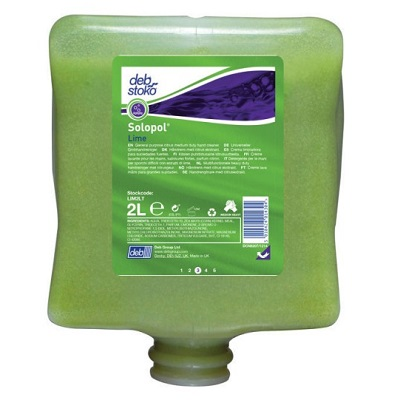 Deb 2000 Series 2 LTR Lime Wash Lim2lt  (replacing Lim43cd Deb Lime)