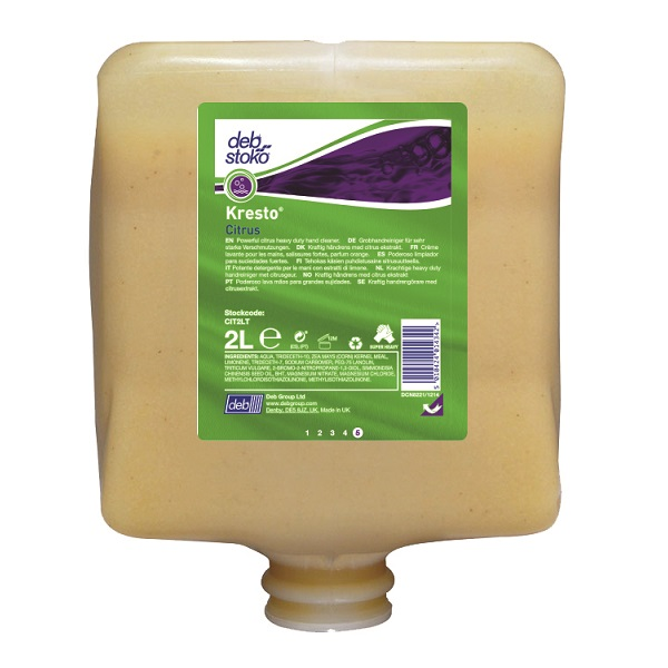 Deb 2000 Series 2 LTR Citrus Power Wash Cit2lt was Natural Nat43dd