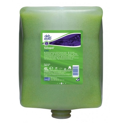 Deb 4000 Series 4 LTR Lime Wash Lim4ltr  was Lime Lim54ed