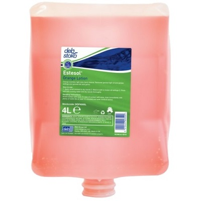 Deb 4000 4ltr Orange Pure Hand Cleanser Dop4000l