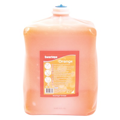 4 LTR Swarfega Orange Cartridge Sorc4ltr Hand Cleanser was Deb 4000 4ltr Tufenga Orange Sor45j