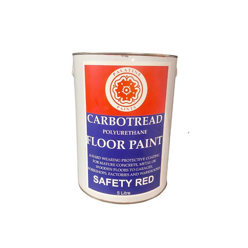 5 LTR Concrete Floor Paint Safety Red