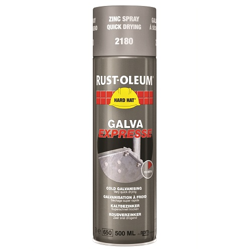 Rustoleum Hardhat Spray 2180 Galva Express 500ml