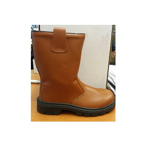 Aimont Rutor Tan Rigger Boot Lined Size 6 Safety En20345:2004 S3 5sp04