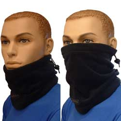 Fleece Neck Gaiter Black BC285