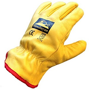 Hide Fully Lined Drivers Gloves Size 10