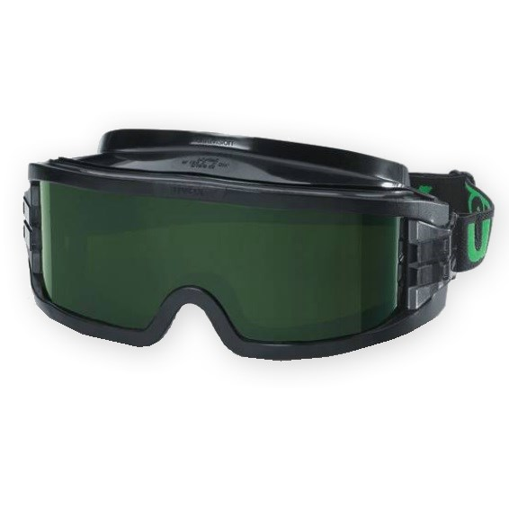 Uvex 9301 - 245 Tinted Shade 5 Welding Goggle