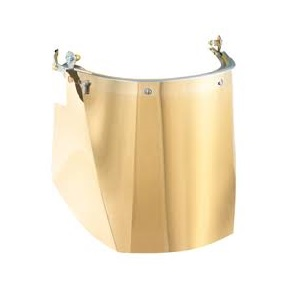 Pulsafe Sv9pgfh Gold Coated p/c Visor