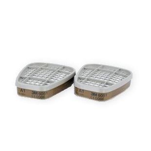 3m 6051 A1 Filters (pack Of 2)