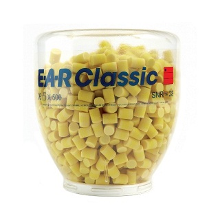 E.A.R. Classic Plug Refill Bottle (500 Pai For One Touch Dispenser SNR28 Pd-01-001
