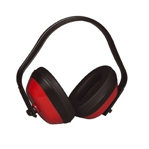 PW40 Classic Ear Defender SNR 27 Red Multi Position en352/1 Lightweight