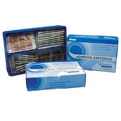 Sterile Fabric Plasters 120 asst/box 86500