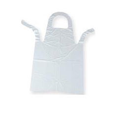 White Disp. Apron 120 Gauge ap001/40x27 (slcp965w) Pack Of 100