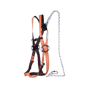 Elara 130 Restraint Kit Comprising Safety Harness And 1.5mtr Lanyard And Bag 1 Point Anchorage Suitable Scissor Lifts En362/en361/en354 Short Term Casual Work