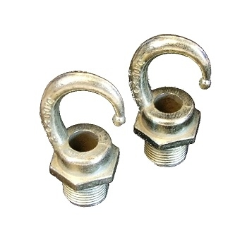 20mm Male Screwed Hook. Die Cast (10kg)