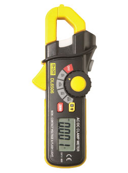 DL6506 Mini Clampmeter 80a. Di-Log ac/dc Current (100-600v Ac)