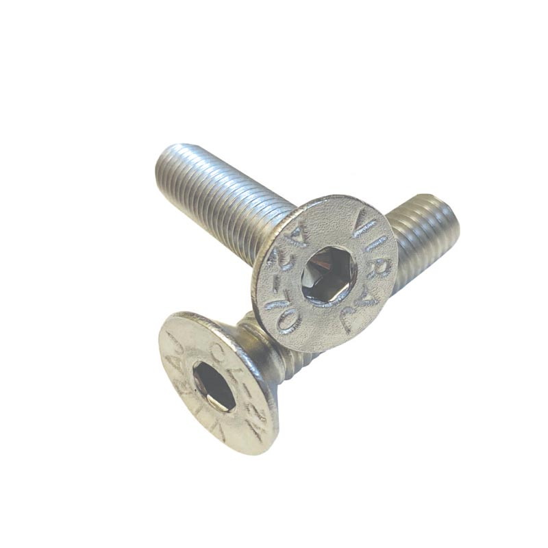 M6 Socket Countersunk Screws Stainless Steel Din7991 A2