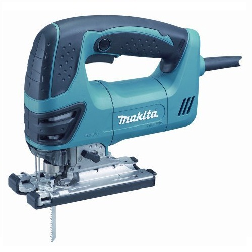 Makita 4350fct Jigsaw With Light Orbital Action Tool-Less Blade Change 110v Or 240v