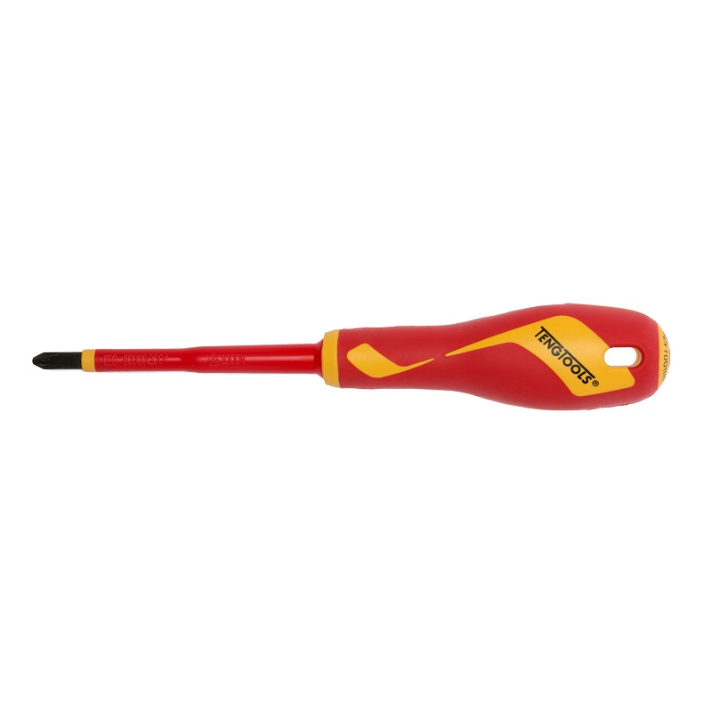 Teng Insulated Electricians Screwdriver Phillips Head 1000v