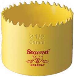 Starrett Holesaws Up To 1""