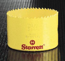 "Starrett Holesaws 1""  Up To 2"""