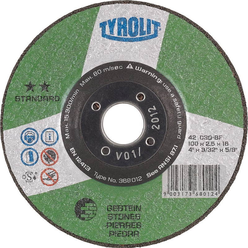 Tyrolit Basic Flat Stone Cutting Disc