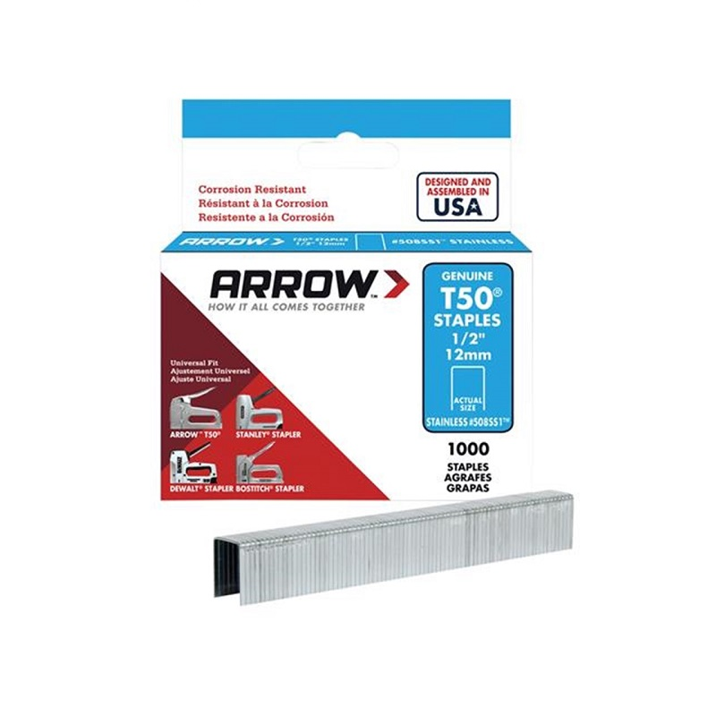 Arrow 504 T50 Staples