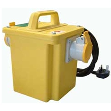 Portable Power Tool Transformer, Single Outlet
