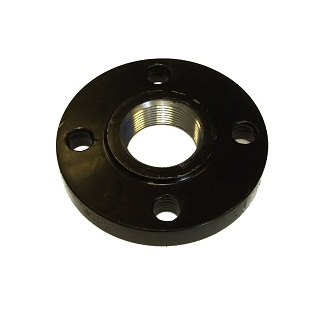 Black Asa150 Flange Screwed